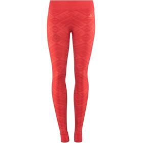 Odlo Suw Natural + Kinship Warm Undertøj Damer rød